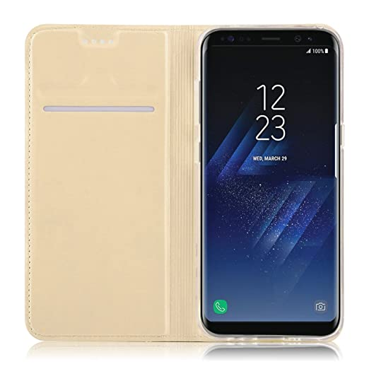3 opinioni per Samsung Galaxy S8 custodia, KuGi ® Samsung Galaxy S8 cover, [Caduta / Shock /