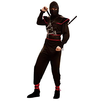 My Other Me Me-202066 Disfraz de ninja killer para hombre, ML (Viving Costumes 202066