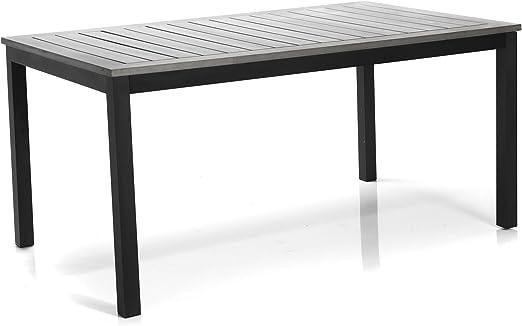 Houston Table de jardin rectangulaire Naturel - Alinea 150.0 ...