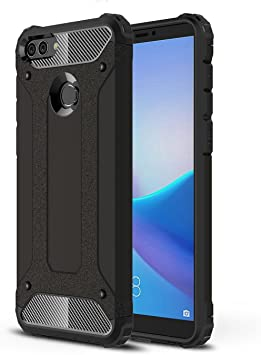 XINKO Huawei Y9 2018 Funda, 2 in 1 PC TPU Gel Ultra Fina ...
