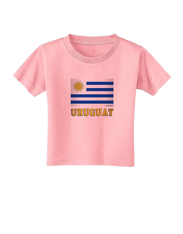 TooLoud Uruguay Flag Toddler T-Shirt