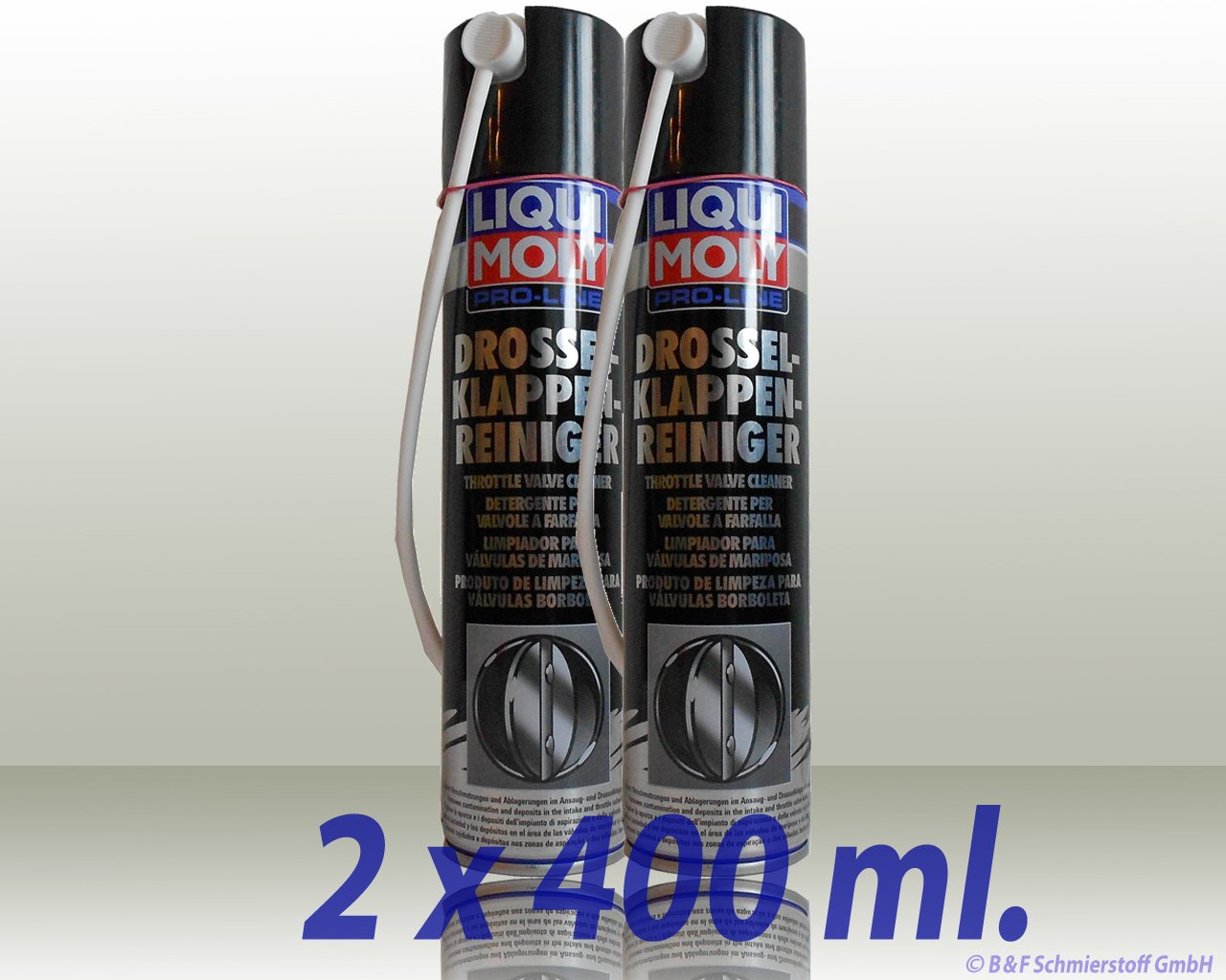 Liqui Moly 5111 Detergent for Butterfly valves, 400 ml Liqui Moly GmbH 95404644