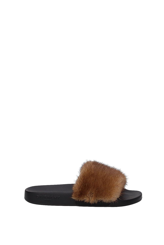 Givenchy Zapatillas y zuecos Mujer - Pelaje (BE08209806) EU 36 EU|Marrón