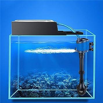 Laurelmartina 3 en 1 Multifunción de Acuario de Filtración de Oxigenación de Bomba de Agua de