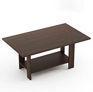 Bluewud Osnale Coffee Table (Wenge, Rectangular)