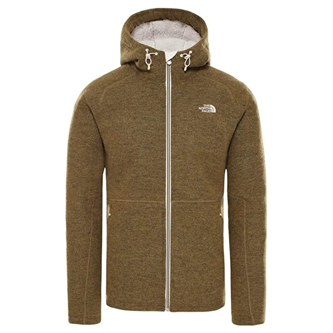 the north face giacca british khaki
