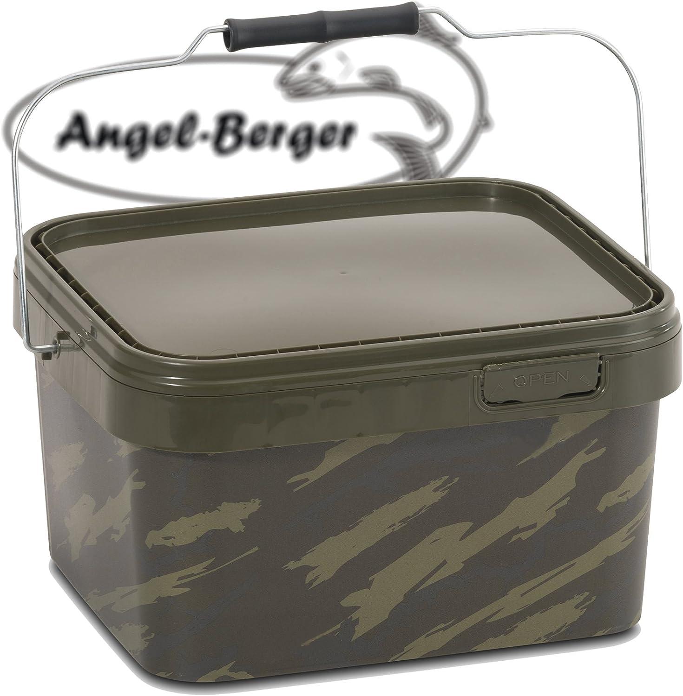 Angel-Berger Bucket Angeleimer Boilie Eimer Futtereimer