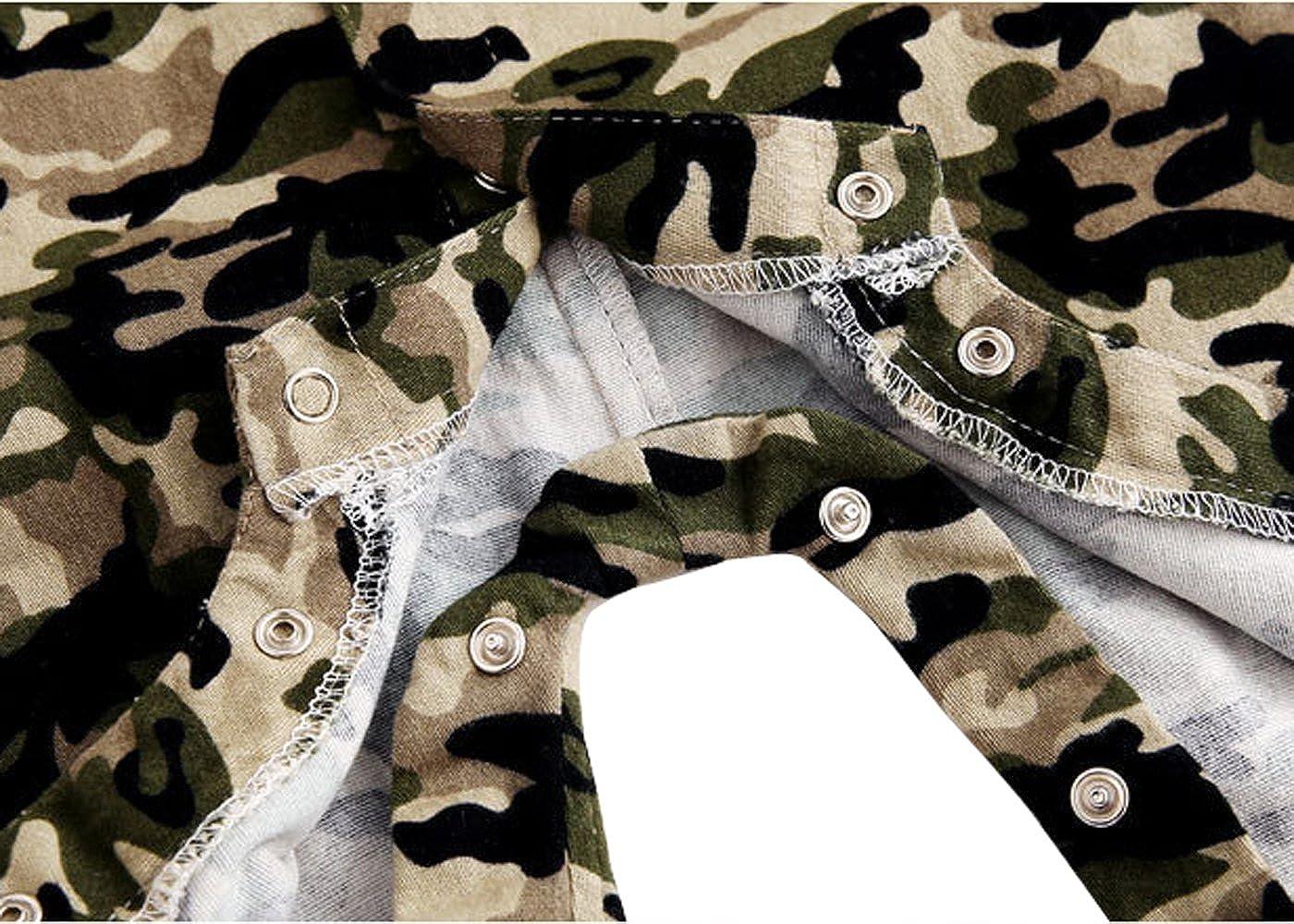 Ding-dong B/éb/é Gar/çon Fille Camouflage Combinaison