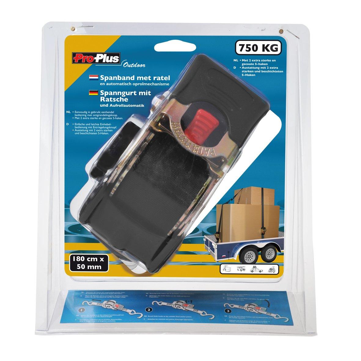 autoenrollable ProPlus 320280/Correa de Amarre con Tensor de trinquete