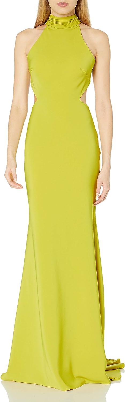 Mac Duggal Women's High Neck Gown