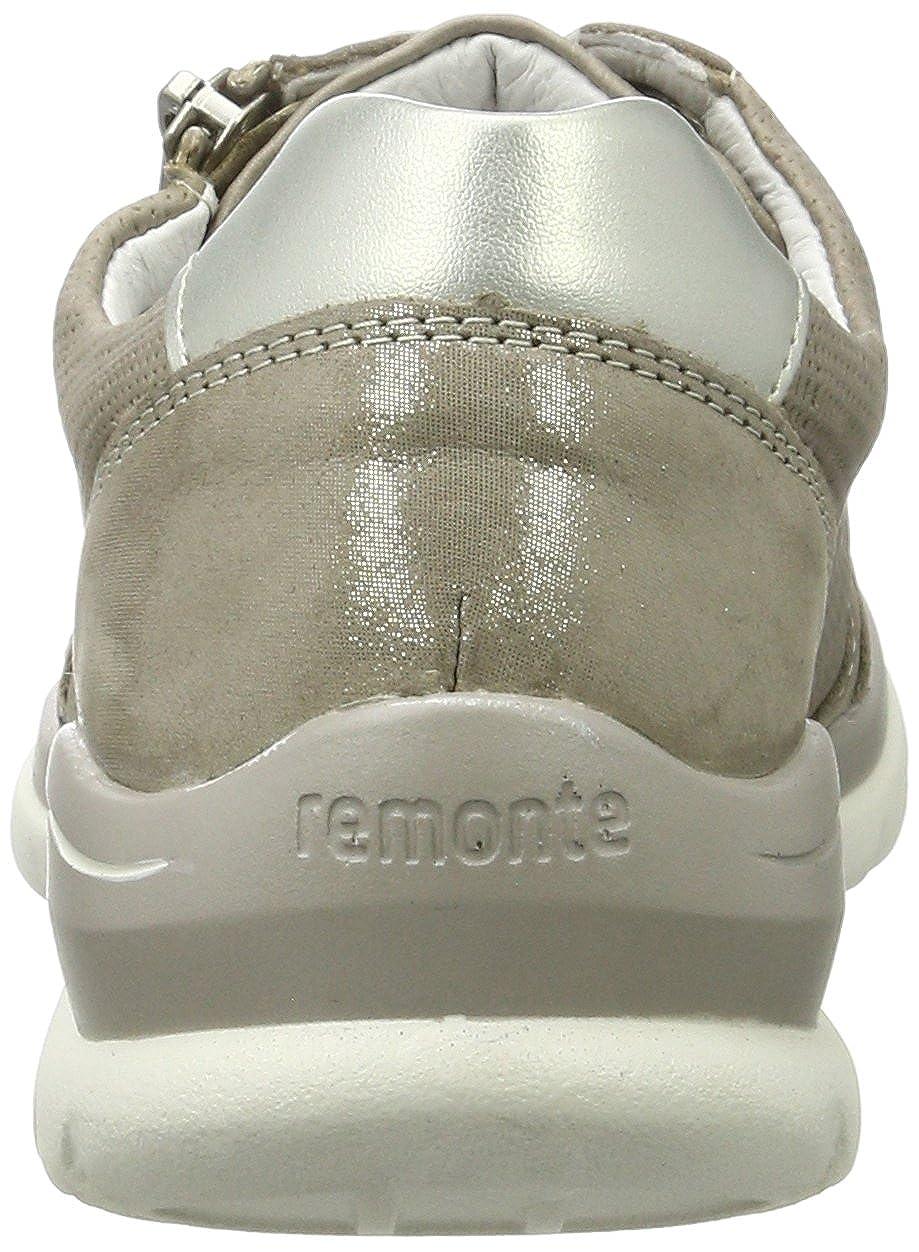 Remonte Damen D5304 D5304 D5304 Derby Beige (Murmel/Elefant/Silver/42) 8fcbd1