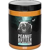 nu3 Crema de cacahuete - 1 kg Peanut Butter pura y natural - Mantequilla de maní sin sal ni azúcar - Libre de aceite de palma y conservantes artificiales - con 21g de proteínas por cada 100 g