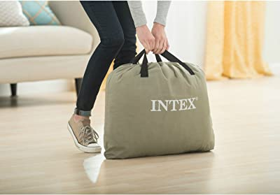 Intex Raised Downy Airbed carry bag