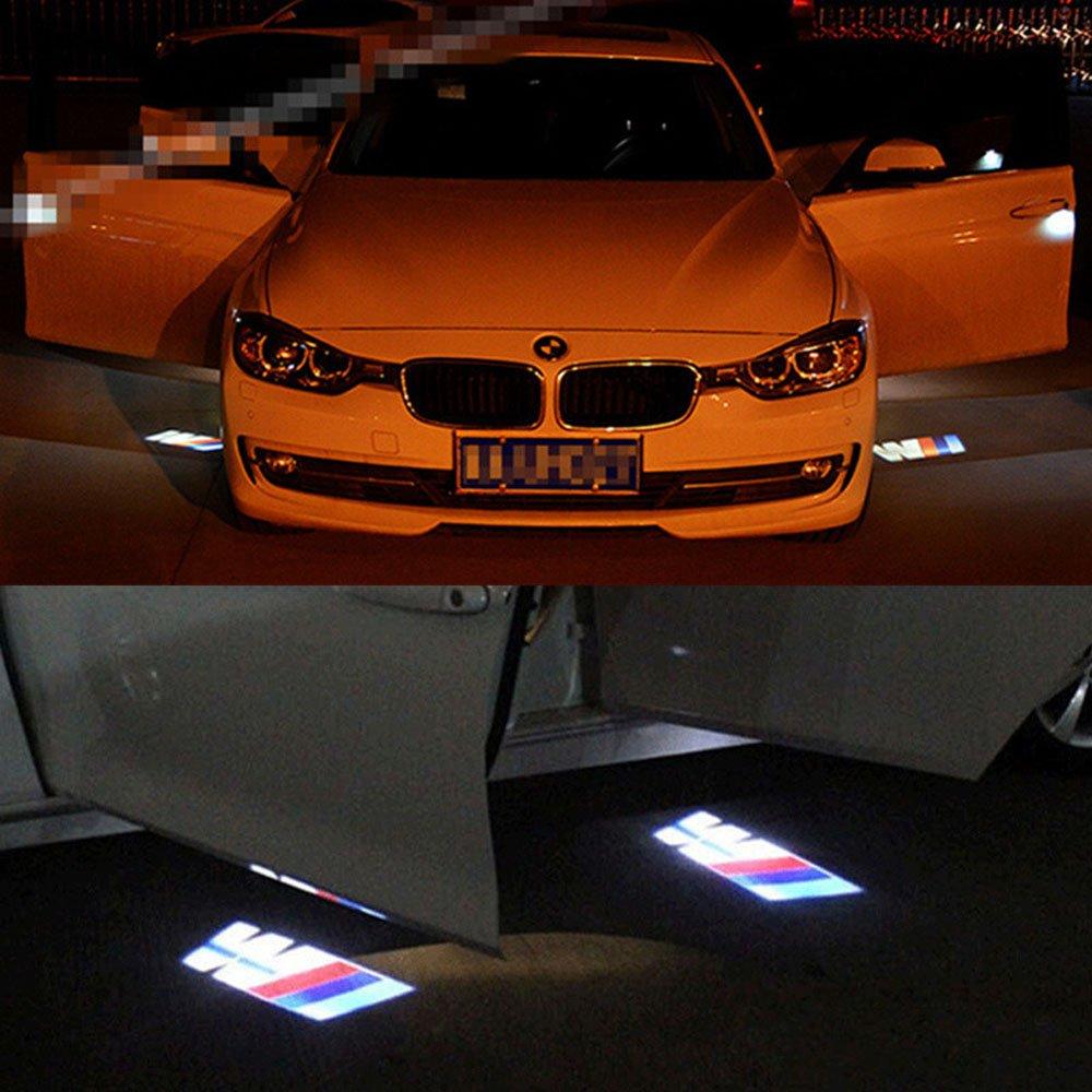 2 xBMW///M Tür-Licht-Projektor, Laser, Logo, LED: Amazon ...