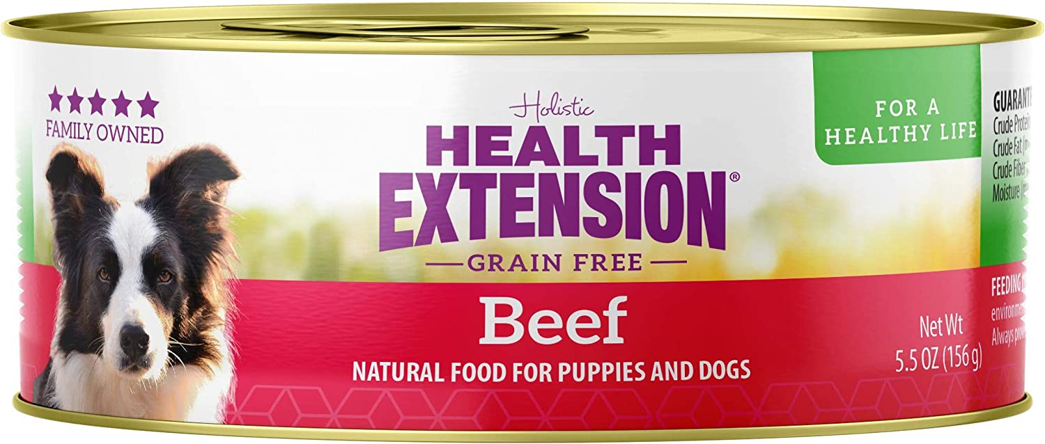 Health Extension Grain Free 95% Beef 5.5-Ounces