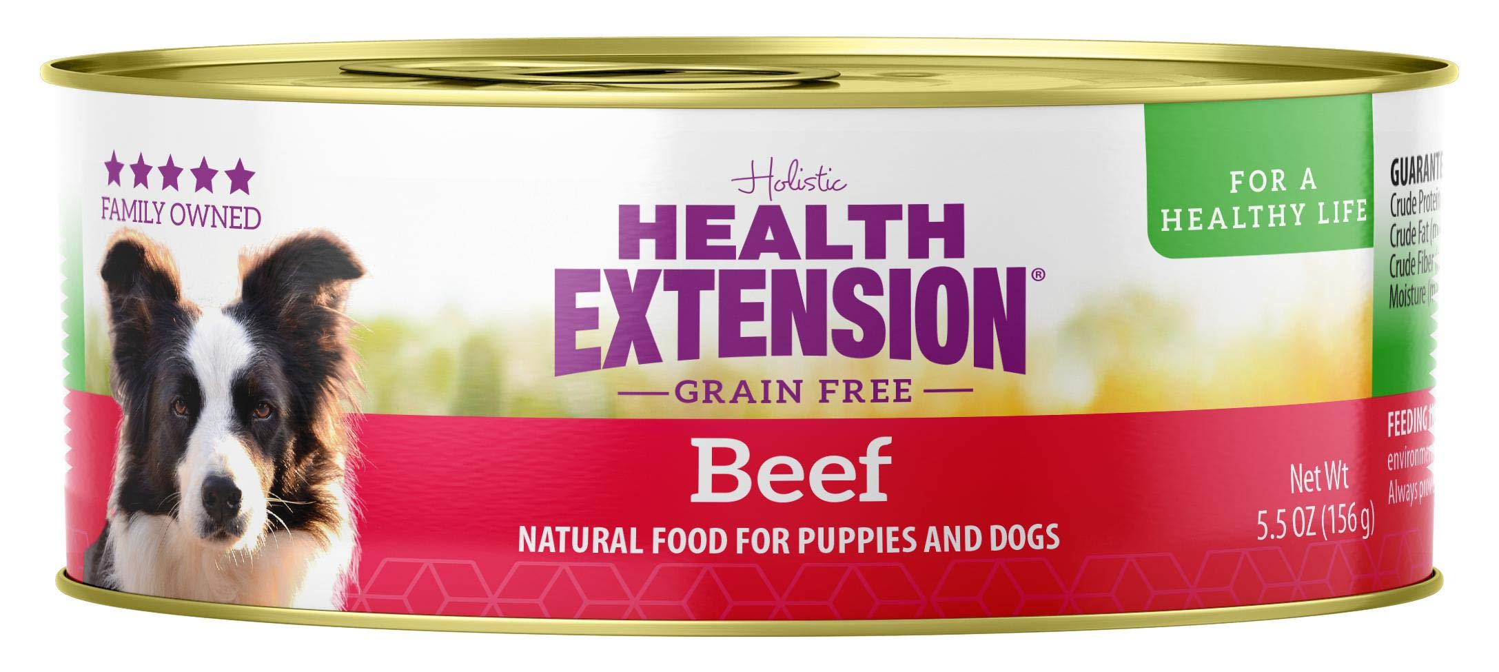 Health Extension 858755000390 Meaty Mix Beef, 5.5-Ounce (Case of 24)