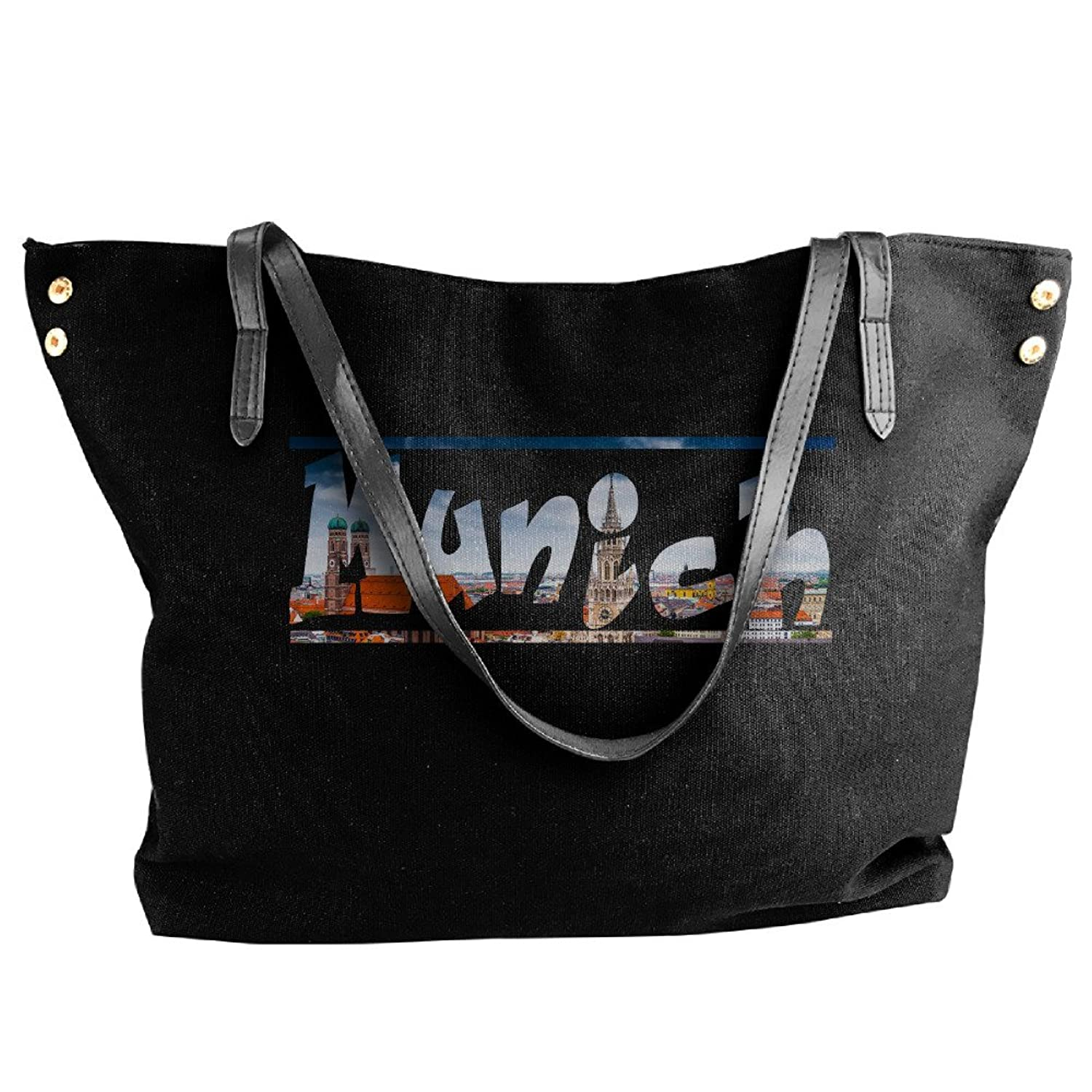 Munich Foldable Cosmetic Bags For Women Black