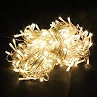 Christmas Bright Yellow Light Xmas Tree Lamps 10 Meters Party Room Decor out Door Decoration LED String Fairy Lights 100…