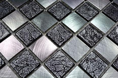Mosaico alluminio mosaico di vetro traslucido crystal alu