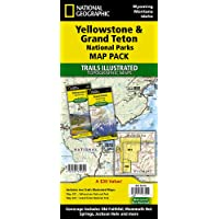 Image for Yellowstone and Grand Teton National Parks [Map Pack Bundle] (National Geographic Trails Illustrated Map)