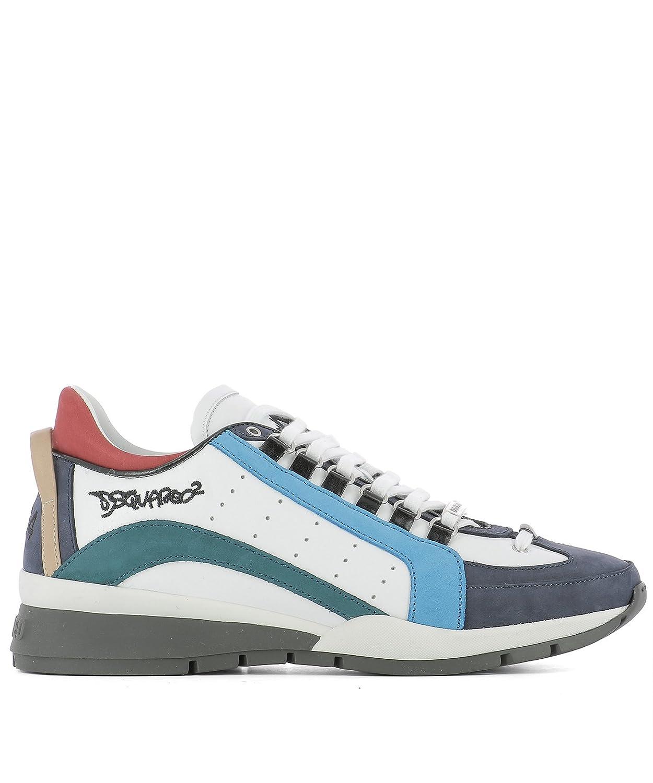 Dsquared2 メンズ W17SN4041110M243 マルチカラー 革 運動靴 B07DXKDMVD