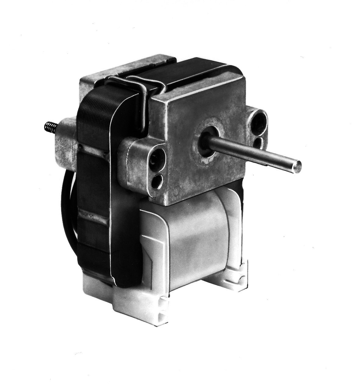 Fasco K102 C Frame Open K Line Shaded Pole OEM Replacement Electric Motor with Sleeve Bearing, 1/200HP, 1100rpm, 115VAC, 60Hz, 0.57 amps, For Wall Heater