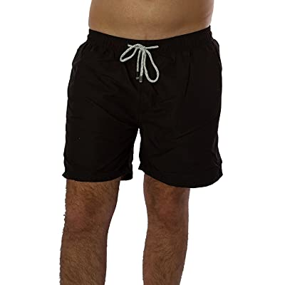 Exist Men's Solid Color Swim Trunks | .com