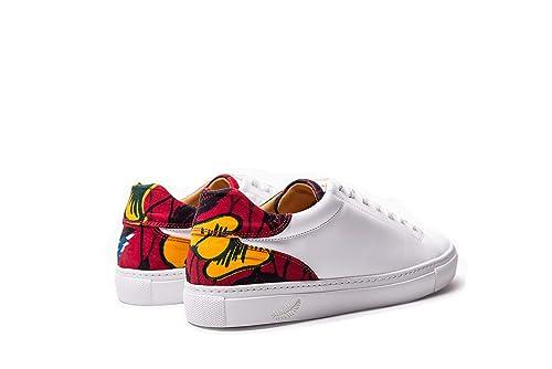 Wibes N'Zassa Hibiscus Zapatos de Cuero & Wax