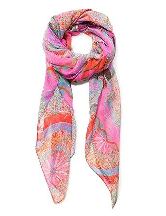 6a873103c506a Desigual Women's Foul_Soft Mandala, NUBE rosa U at Amazon Women's Clothing  store:
