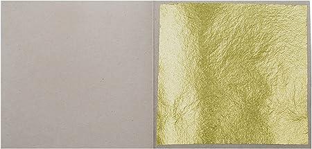 200 Blatt Original  Blattgold   Gelbgold zum vergolden 45 x 45 mm