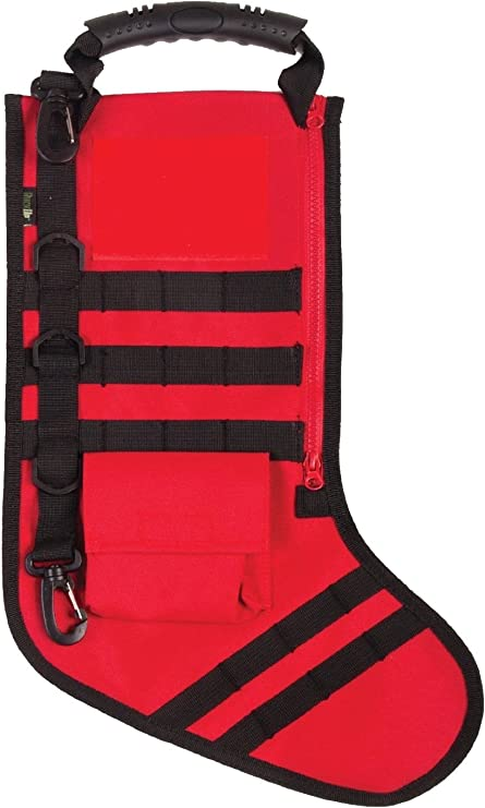 Fire Red Full, RUCKUP RUXMTSR Tactical Christmas Stocking