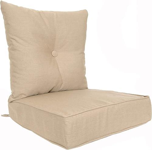 RULU 02186 Patio Cushion Outdoor/Indoor Sunbrella