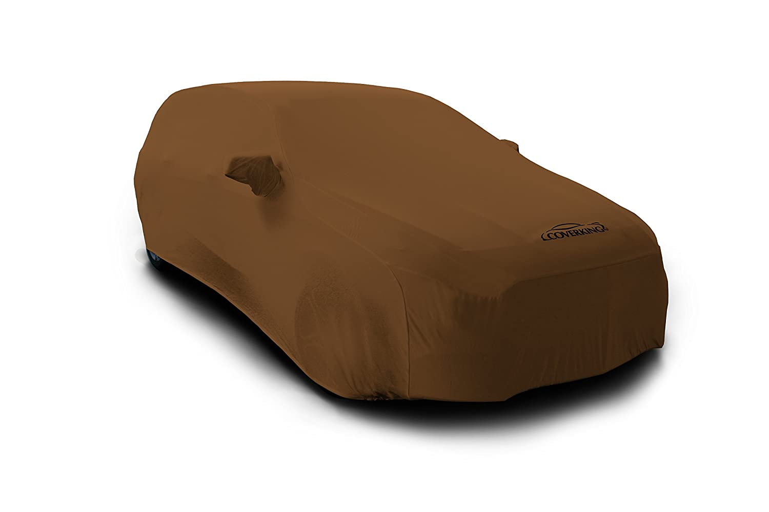 Coverking Custom Fit Car Cover for Select Chrysler Town & Country Models - Satin Stretch (Tan)
