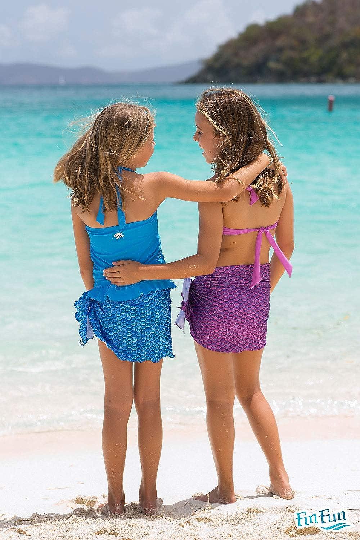 Fin Fun Meerjungfrau Damen Badeanzug Sarong vertuschen