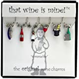 Wine Things WT-1421P Sommelier Wine Charms, Painted
