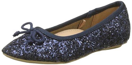 estetica di lusso come scegliere sconto speciale di Zippy Glitter, Ballerine Punta Chiusa Bambina, Blu (Dress ...