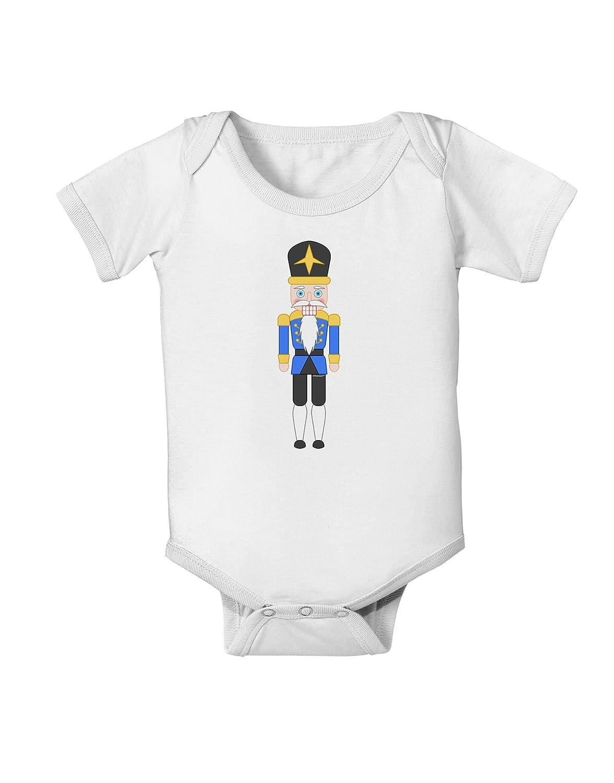 TooLoud Nutcracker Design Blue Gold Black Baby Romper Bodysuit