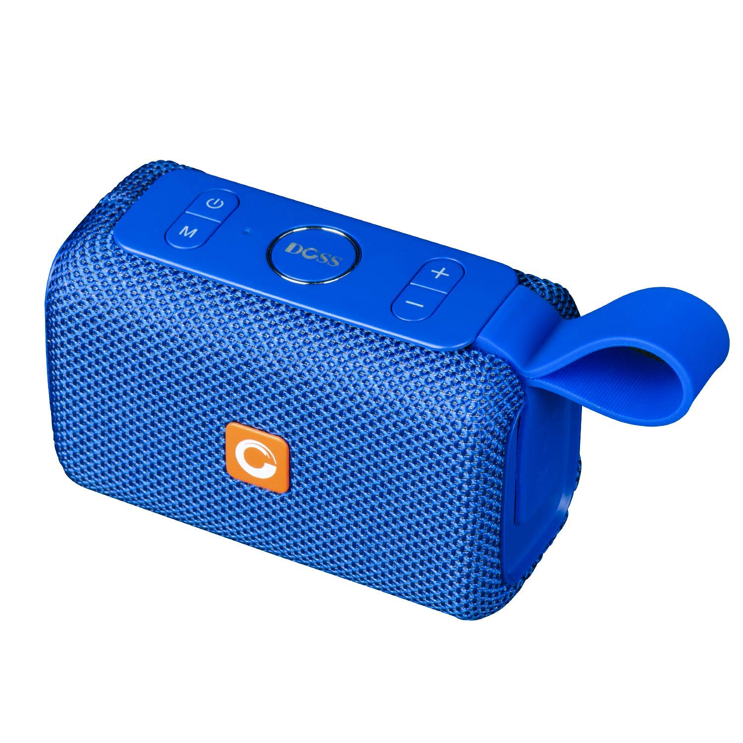 DOSS E-go Portable Bluetooth Speaker with Loud Volume, Increased Bass, IPX6 Waterproof, Built-in Mic. Perfect Wireless Speaker for Phone, Tablet, TV, and More(Grey) Wonders Tech E-go [Grey]