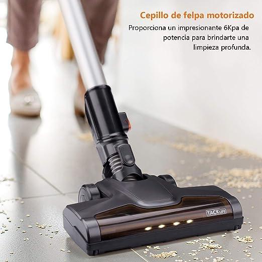 TACKLIFE Aspirador Inalámbrico, VCST01A Aspiradora Sin Cable, Función 2 en 1 y Batería de 2200 mAh con Accesorios, 1,35 kg para Limpiar la Casa, el Hotel o el Coche, etc.: Amazon.es: Hogar