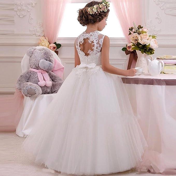 VIPbridal Vestido de cumpleaños de la boda del desfile de la primera comunión de la flor: Amazon.es: Ropa y accesorios