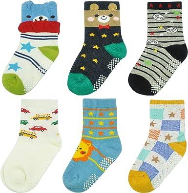 Mens Cute Dinosaur Baby Poster Socks Non-slip Crew Compression Socks