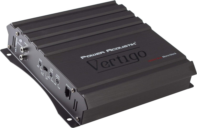 Power Acoustick VA1-8000D 8000W Monoblock Class D w//Bass Remote