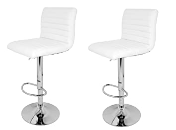 La sedia spagnola sgabelli con sedile imbottito pelle sintetica