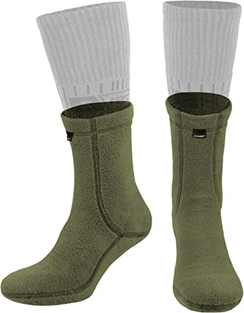 Mens Boot Socks Camouflage army Knit Running Thermal