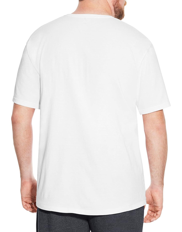 daa31c7f6 Champion Mens Big Tall Cotton Graphic Tee 5XL Navy CS327