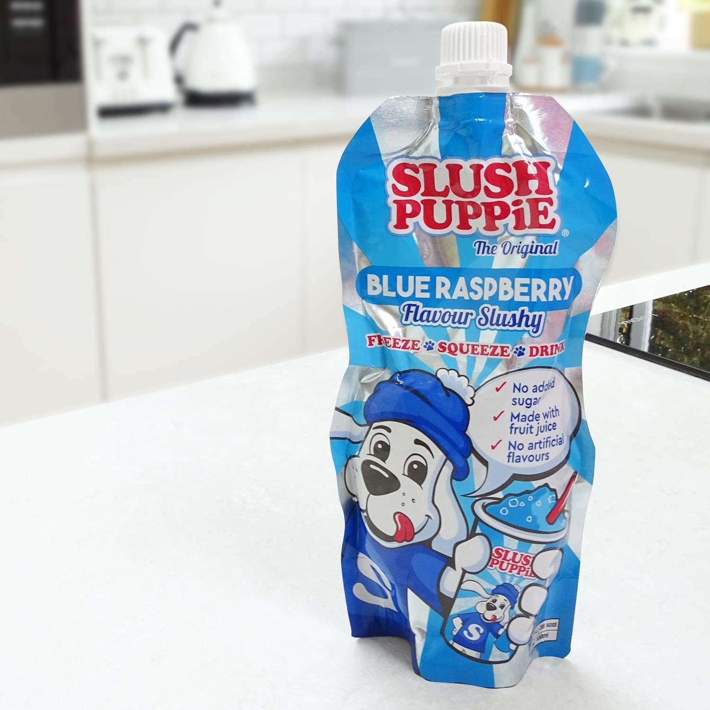 Slush Puppie Pouches Blue Raspberry 6 Pack