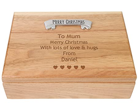 Personalised christmas gifts for mum uk