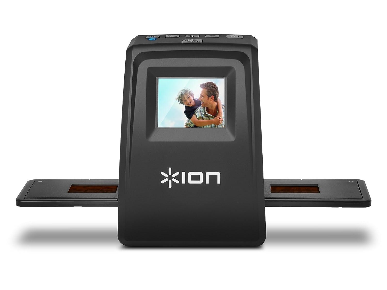 USB 35mm Slide /& Negative 5 Mega Pixel Scanner with Rapid Slide Feeder for Mac and PC ION Audio Slides Forever