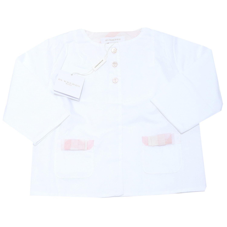 Bianco 18 MESI BURBERRY 0048I Felpa Bimba   felpe Sweatshirts kdis
