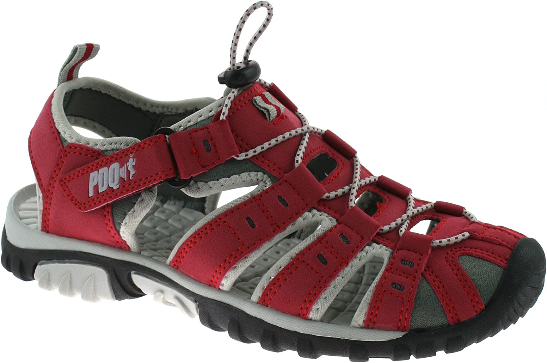 PDQ - Sandalias deportivas para mujer